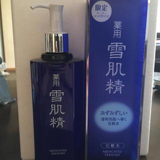 コーセー(KOSE)の新品未使用 雪肌精 化粧水 500ml(化粧水/ローション)