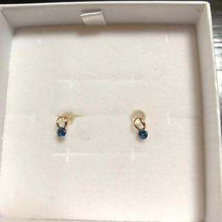 ジュエリーツツミ(JEWELRY TSUTSUMI)の青水晶のピアスです。(ピアス)