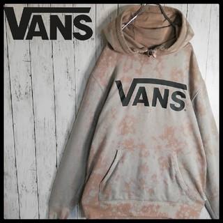 VANS - 【VANS】【ビッグロゴ】【ビッグサイズ】【ブリーチ加工】プルオーバーパーカー