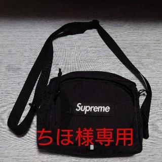 シュプリーム(Supreme)のSUPREME shoulder bag 19ss BLACK(ショルダーバッグ)