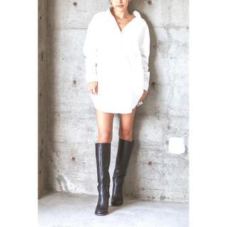 ALEXIA STAM - high heel long boots black L▶︎alexiastam