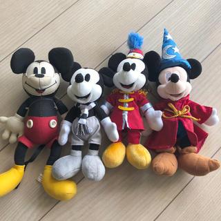 Disney - ディズニー ミッキー  ぬいぐるみ 4点