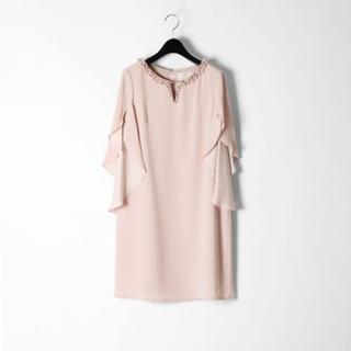 GRACE CONTINENTAL - タグ付き【グレースコンチネンタル ワンピース】ビジュー フォーマル ドレス