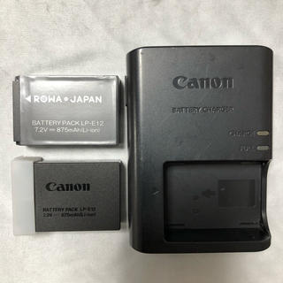 Canon - Canon 純正 バッテリー LP-E12 / 充電器 LC-E12  完動品