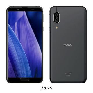 SHARP - 【新品 未開封】AQUOS sense3 lite ブラック SH-RM12