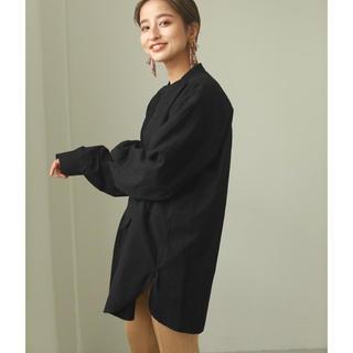 TODAYFUL - TODAYFUL  Tuck Dress Shirts タック ドレス シャツ黒