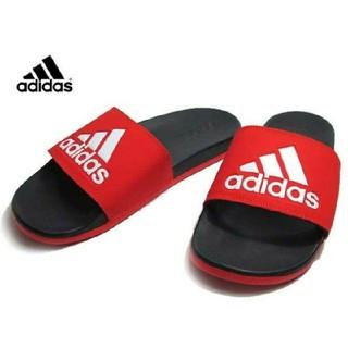 adidas - 新品 送料込み アディダス 白 アディレッタ 27.5センチ ホワイト サンダル
