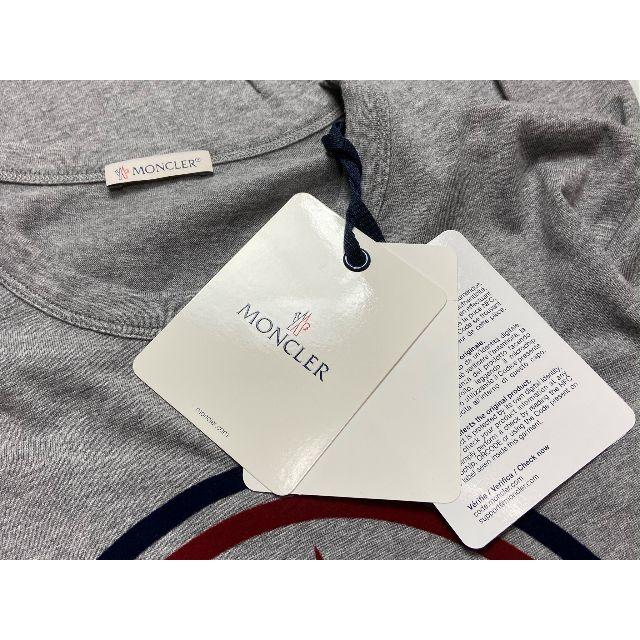 MONCLER(モンクレール)のMONCLER モンクレール ビッグロゴ 半袖Tシャツ M メンズのトップス(Tシャツ/カットソー(半袖/袖なし))の商品写真