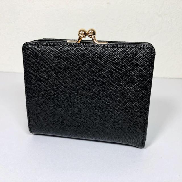 Vivienne Westwood(ヴィヴィアンウエストウッド)の未使用品【ヴィヴィアンウエストウッド 】レザー2折りがま口財布 レディースのファッション小物(財布)の商品写真