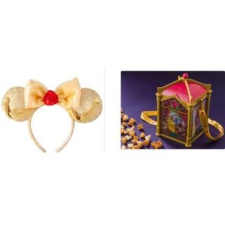 Disney - 美女と野獣☆ベルのカチューシャとポップコーンバケット