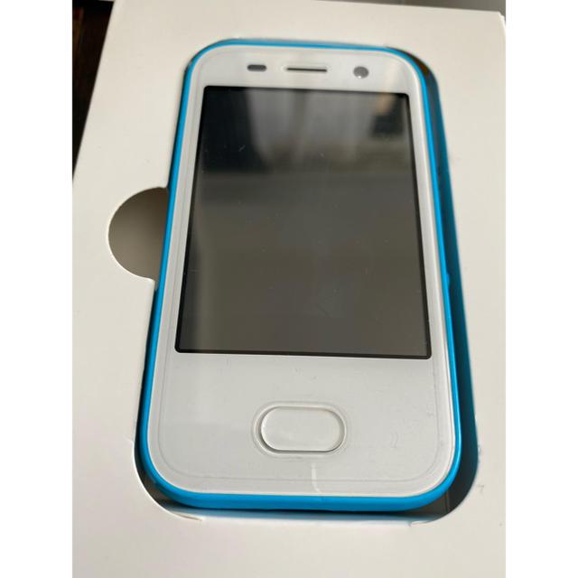 Softbank(ソフトバンク)のSoftBank☆キッズフォン ブルー ソフトバンク スマホ/家電/カメラのスマートフォン/携帯電話(スマートフォン本体)の商品写真