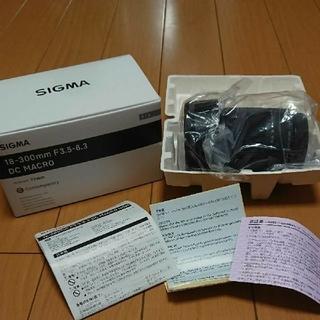 SIGMA - 新品級 SIGMA 18-300mm F3.5-6.3 DC MACRO OS