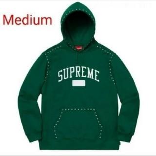 シュプリーム(Supreme)の★M★キムタク着用色違い★Studded Hooded Sweatshirt(パーカー)