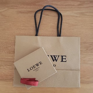 ロエベ(LOEWE)のロエベ財布用箱&紙袋(ショップ袋)