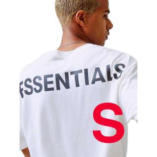 FEAR OF GOD - essentials 2019 バックロゴTシャツ ホワイト Sサイズ