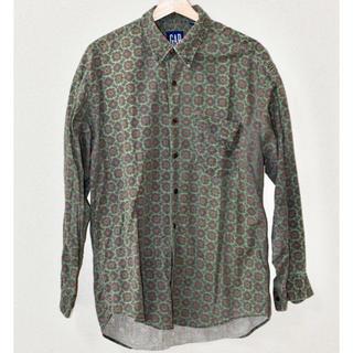 ギャップ(GAP)のold gap オールドギャップ 90s 長袖シャツ 小紋柄(シャツ)