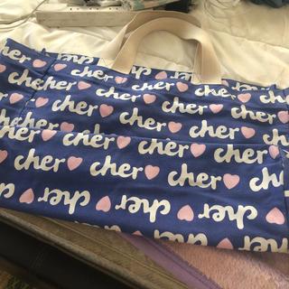 シェル(Cher)のcherデニム生地トートバック(トートバッグ)