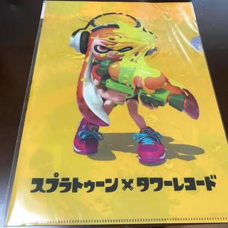 ニンテンドウ(任天堂)のスプラトゥーン  クリアファイル (キャラクターグッズ)