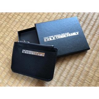 エグザイル トライブ(EXILE TRIBE)のEXILE ファンクラブ限定 カード・定期ケース(名刺入れ/定期入れ)