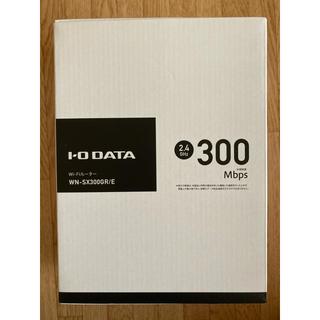 アイオーデータ(IODATA)の【ほぼ新品】 Wi-Fiルーター I-O DATE WN-SX3000GR/E(PC周辺機器)