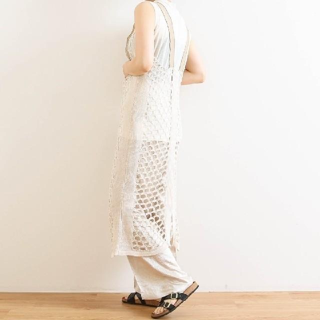 TODAYFUL(トゥデイフル)のトゥデイフル メッシュニットドレス レディースのワンピース(ロングワンピース/マキシワンピース)の商品写真