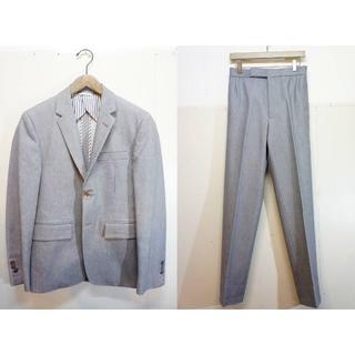 トムブラウン(THOM BROWNE)の国内正規 トムブラウン 3B デニム スーツ セットアップ グレー 407K▲(セットアップ)