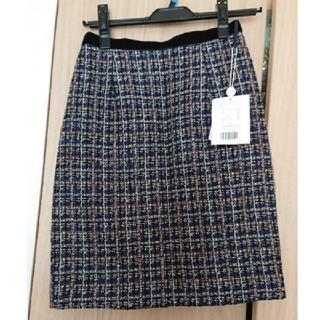 ジャスグリッティー(JUSGLITTY)の新品未使用♡ジャスグリッティー♡ツイードタイトスカート(ひざ丈スカート)