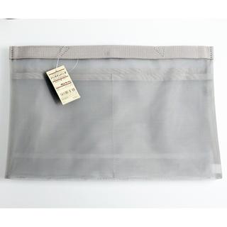 ムジルシリョウヒン(MUJI (無印良品))の無印良品 新品 B5 グレー ナイロンメッシュ バッグインバッグ(ポーチ)