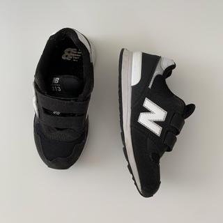 New Balance - ニューバランス PO313BW 18.5㎝