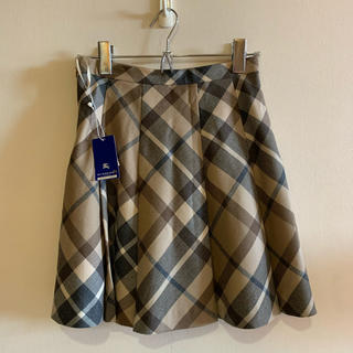 BURBERRY BLUE LABEL - 未使用タグ付き バーバリーブルーレーベル スカート 34