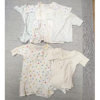 ミキハウス(mikihouse)のミキハウス  新生児肌着50、60(肌着/下着)