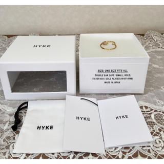 ハイク(HYKE)の人気!【美品♪】HYKEハイク  ゴールド イヤーカフ 専用‼️(イヤーカフ)