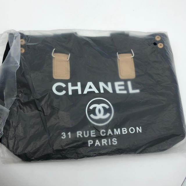 CHANEL(シャネル)の新品 シャネル CHANEL 2Way トートバッグ ノベルティ 黒 レディースのバッグ(トートバッグ)の商品写真