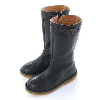 ボンポワン(Bonpoint)のぺぺ 本革ブーツ 18.5cm(ブーツ)