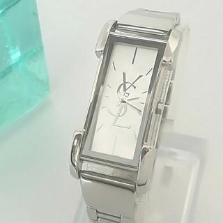 Saint Laurent - 綺麗 サンローラン 新品仕上げ シェル文字盤 腕時計 レディースウォッチ 極美品
