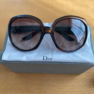 Dior - Diorサングラス ブラウン