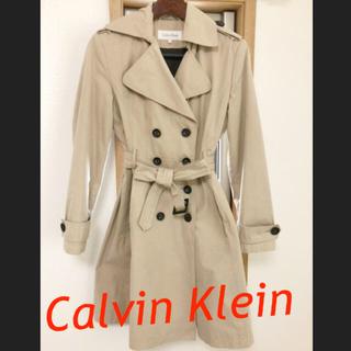 カルバンクライン(Calvin Klein)のCalvin Klein トレンチコート ベージュ カルバンクライン(トレンチコート)