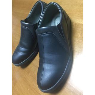 コンフォートシューズ 25㎝ EEE(ローファー/革靴)