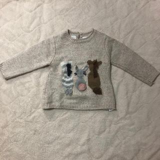 ザラキッズ(ZARA KIDS)のZARA ♡美品 アニマルニットセーター 98cm 2-3years(ニット)