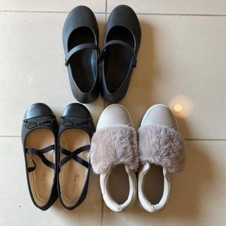 ザラキッズ(ZARA KIDS)の女の子 靴 まとめ売り(スニーカー)
