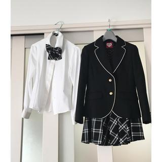 ラブトキシック(lovetoxic)のラブトキシック スカートとリボンのセット 150(ドレス/フォーマル)