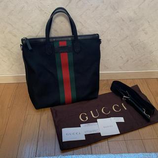 Gucci - GUCCI シェリーライン トートバッグ