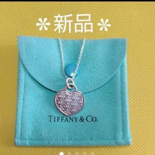 Tiffany & Co. - 新品*未使用*ティファニー ネックレス☆保存袋付き!★非販売品★