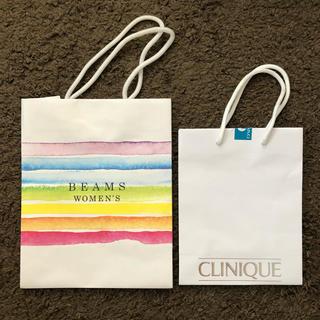 ビームス(BEAMS)のBEAMS CLINIQUE ショップ袋(ショップ袋)