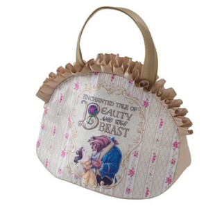 Disney - 美女と野獣ランチトート スーベニアランチバッグ