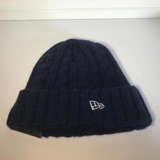 ニューエラー(NEW ERA)の新品未使用 NEWERA ニューエラニット帽 ニットキャップ 送料無料 男女兼用(ニット帽/ビーニー)