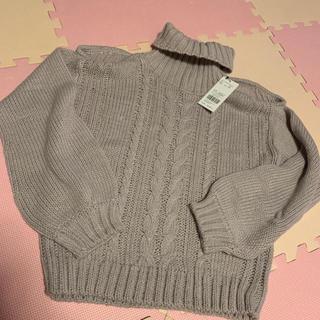 セシルマクビー(CECIL McBEE)の新品 セシルマクビー 肩開き ニット セーター(ニット/セーター)