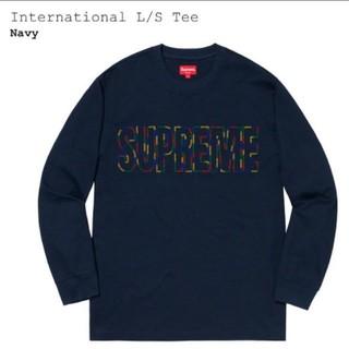 シュプリーム(Supreme)のsupreme International L/S Tee 専用(Tシャツ/カットソー(七分/長袖))
