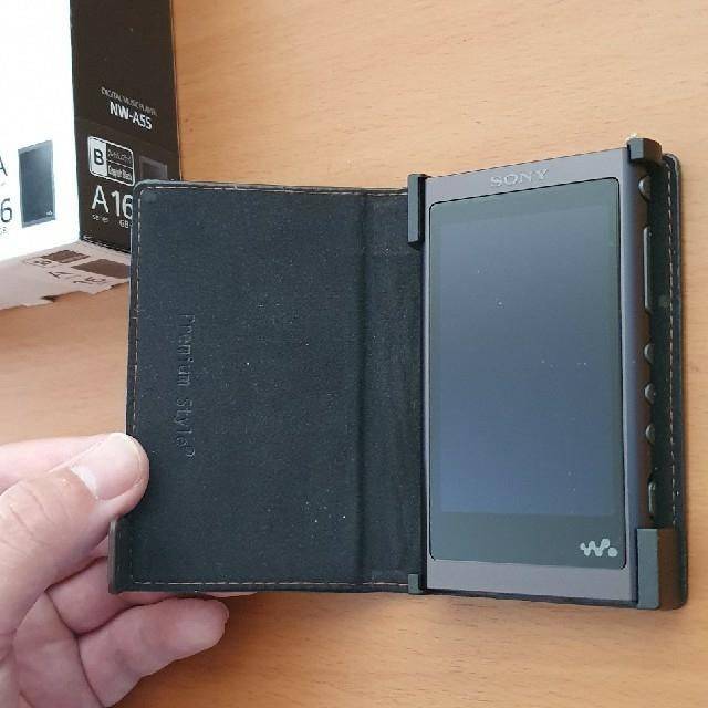 WALKMAN(ウォークマン)のソニー ウォークマンNW-A55 新品 スマホ/家電/カメラのオーディオ機器(ポータブルプレーヤー)の商品写真