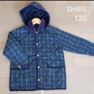 シップス(SHIPS)のSHIPS 中綿キルティングジャンパー 120(ジャケット/上着)